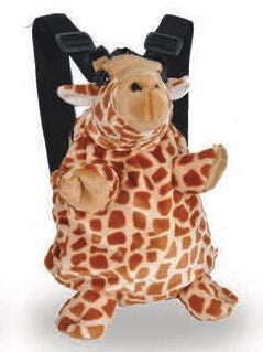 Backpack Plush Giraffe