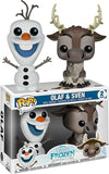 Frozen II - Olaf & Sven Pop! Vinyl 2-pack