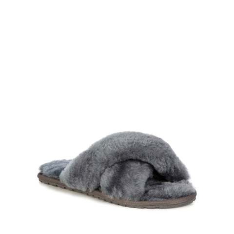 Emu Australia Mayberry Charcoal Slippers