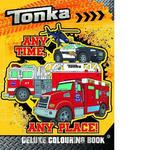 Tonka Deluxe Colouring Book