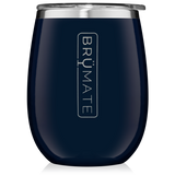 BruMate Wine Glass Navy
