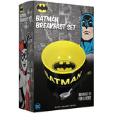 DC Comics Batman Breakfast Set