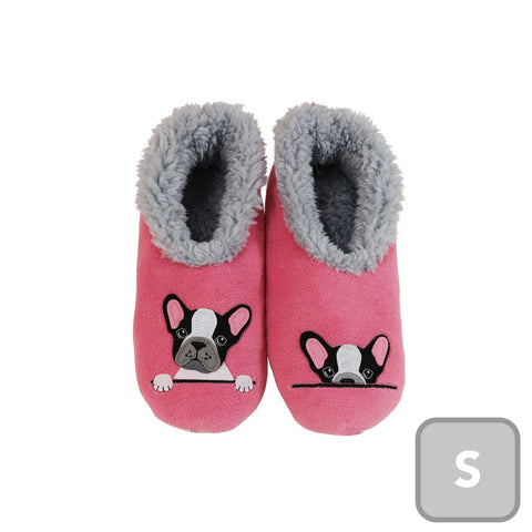 Slumbies Frenchy Dog Furry Foot Pals Small