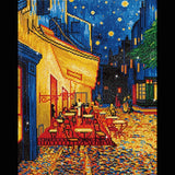 Diamond Dotz - Cafe at Night (Van Gogh)