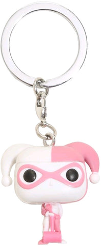 Pocket Pop Keychain - Batman Harley Quinn Pink