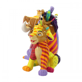 Britto The Lion King Simba Pumbaa & Timon Figurine