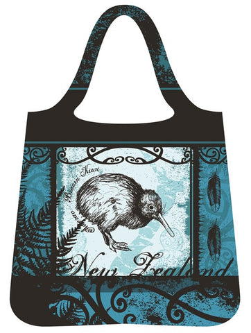 Reusable Bag - Kiwi & Feather