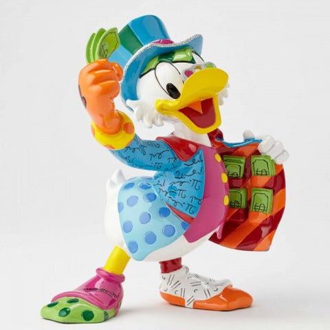 Uncle Scrooge Figurine by Britto