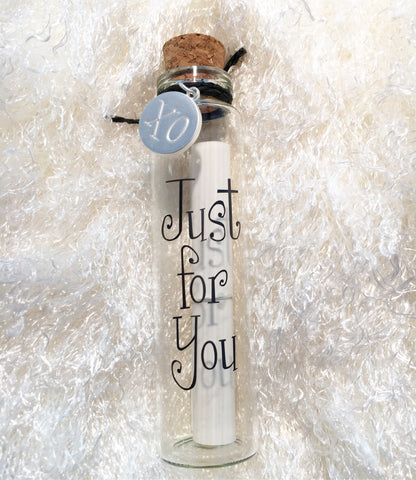 Message In A Bottle - Just For You