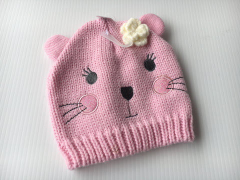 Mouse Beanie Pink