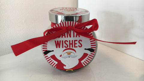 Santa Wishing Jar