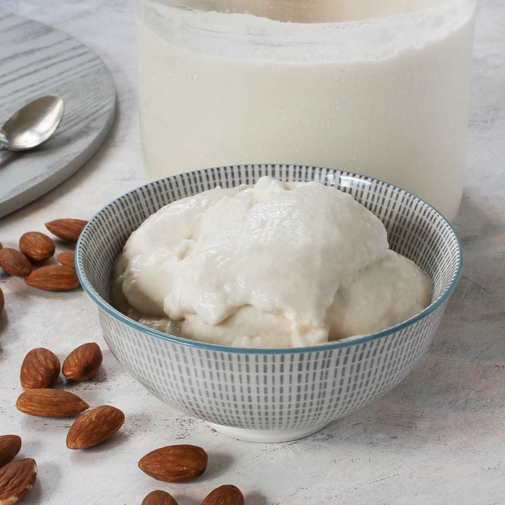 How to make almond milk yogurt