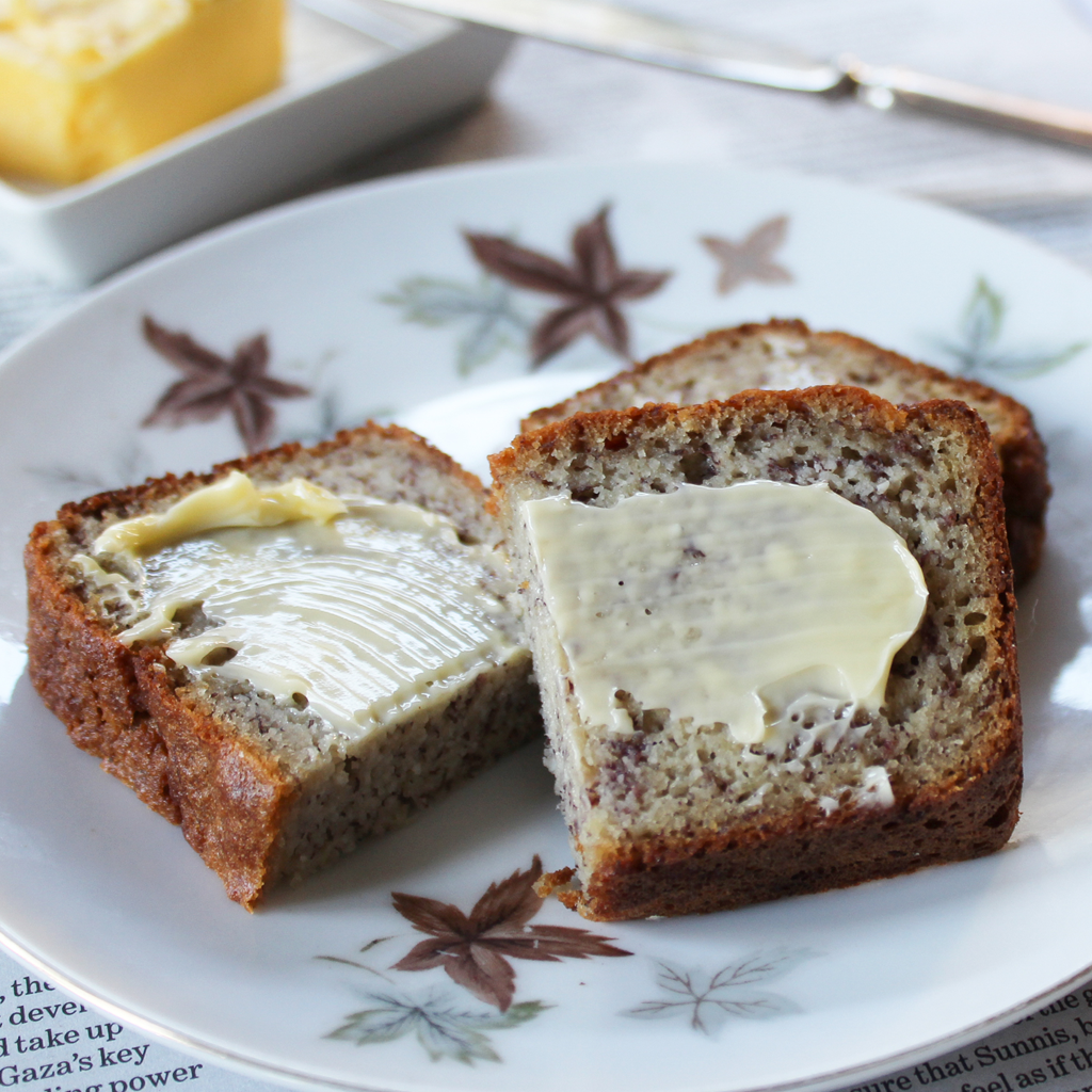 No fail, blender banana bread (SCD & GAPS)