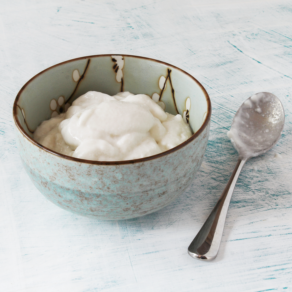 SCD coconut yogurt