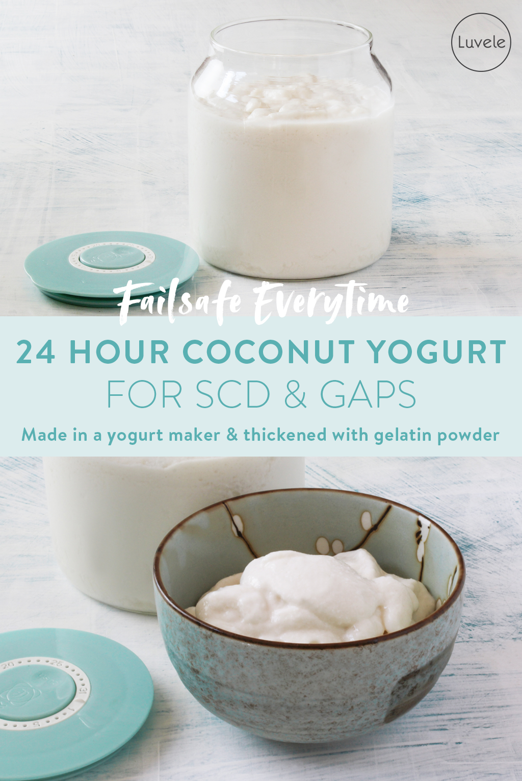 Coconut yogurt recipe for GAPS and SCD diet