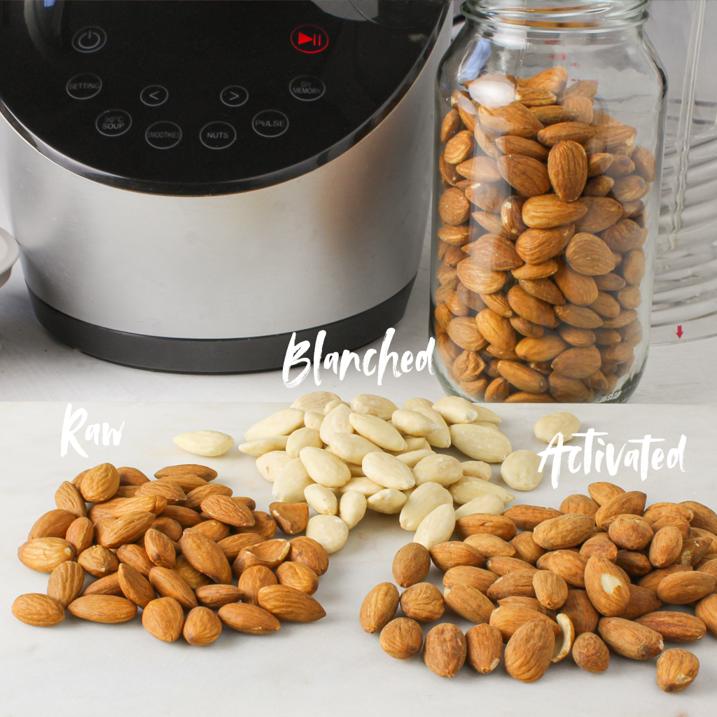 Almonds to use in almond flour