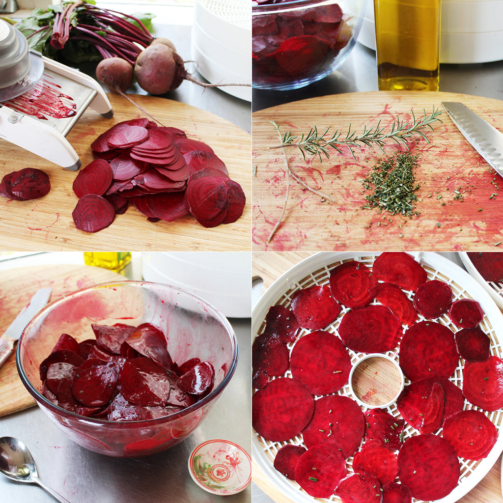 beetroot chips step by step
