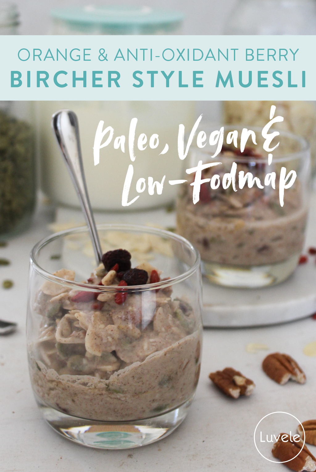 orange and anti-oxidant berry bircher muesli