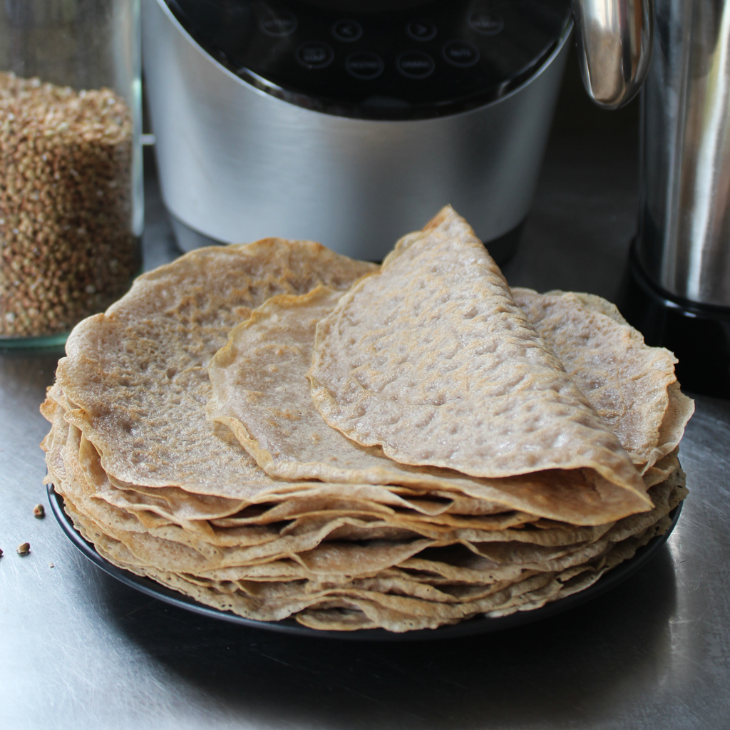 buckwheat crepes / wraps
