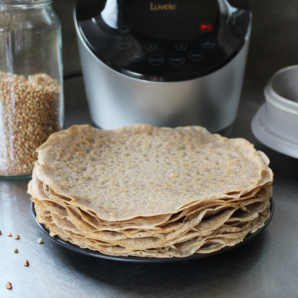 buckwheat crepes wraps