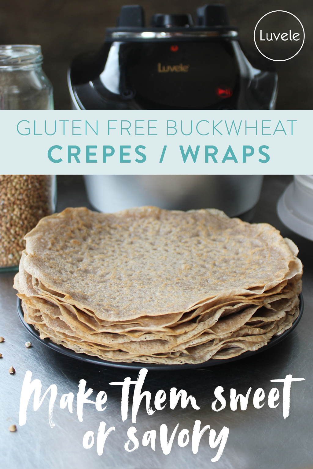 Buckwheat wraps / crepes