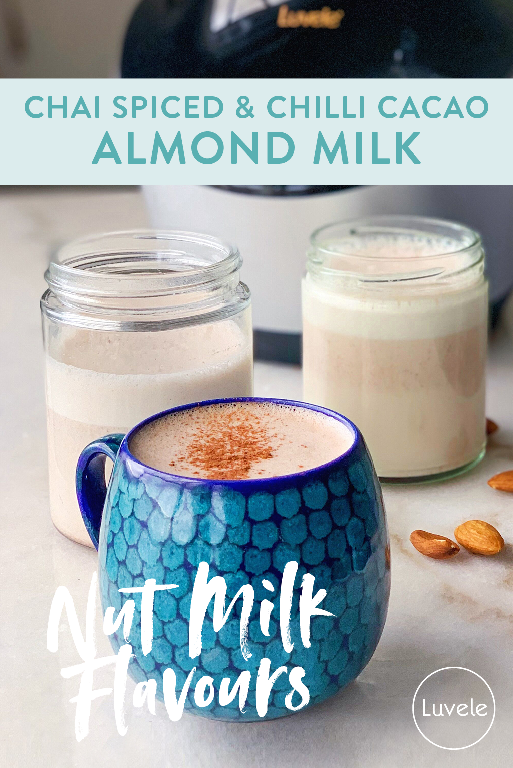 Chilli cacao & Chai spice almond milk recipe