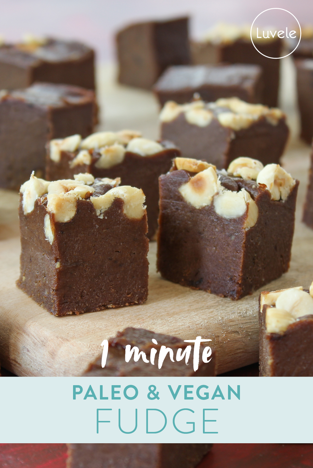 Healthy paleo and vegan fudge