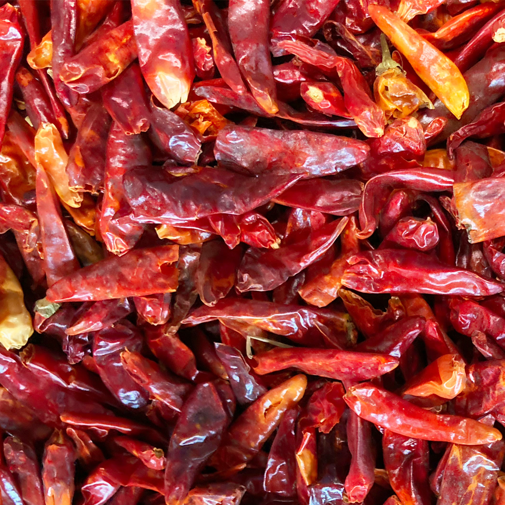 dehydrated chillies