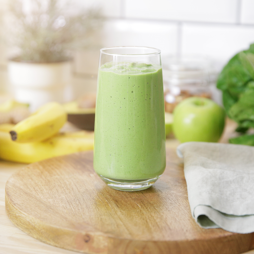 gut loving green green smoothie