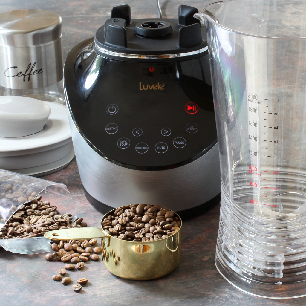 how to grind coffee beans in a blender