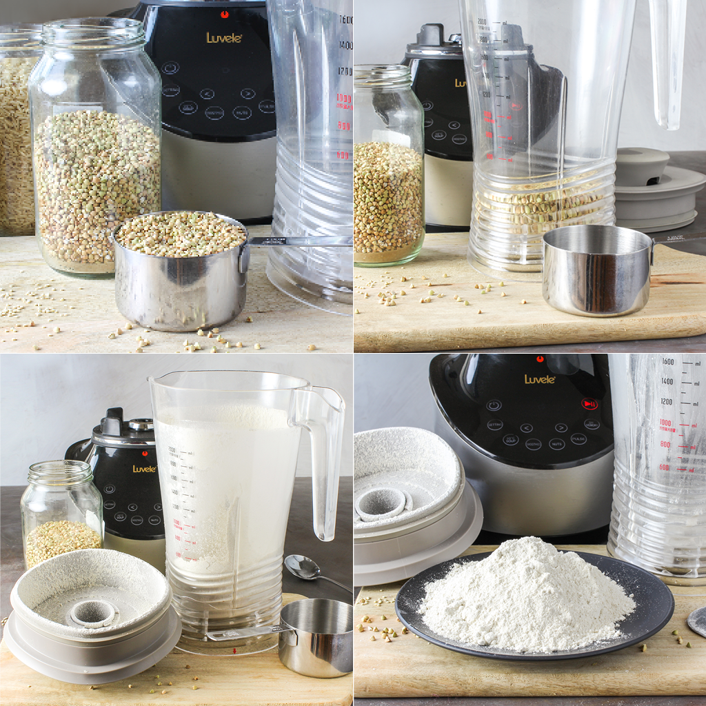 making flour at home