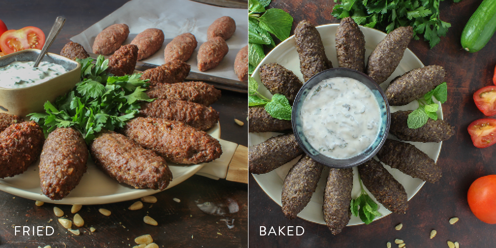 cooked kibbeh