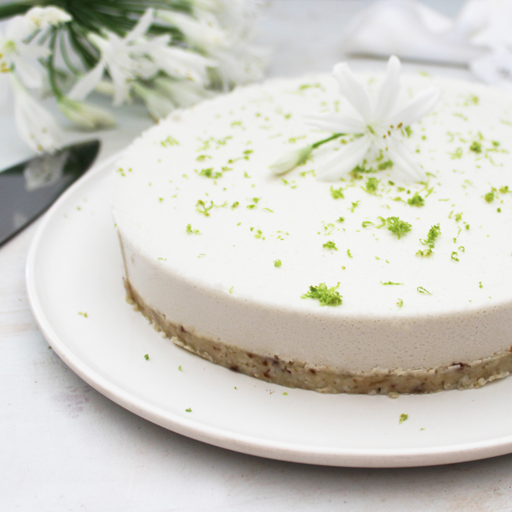 paleo and SCD lime cheesecake