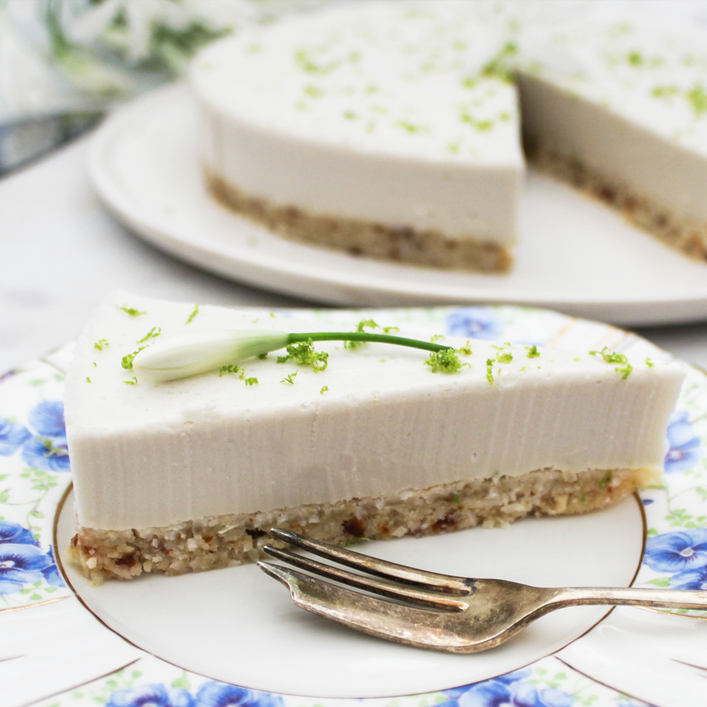 paleo lime cheesecake