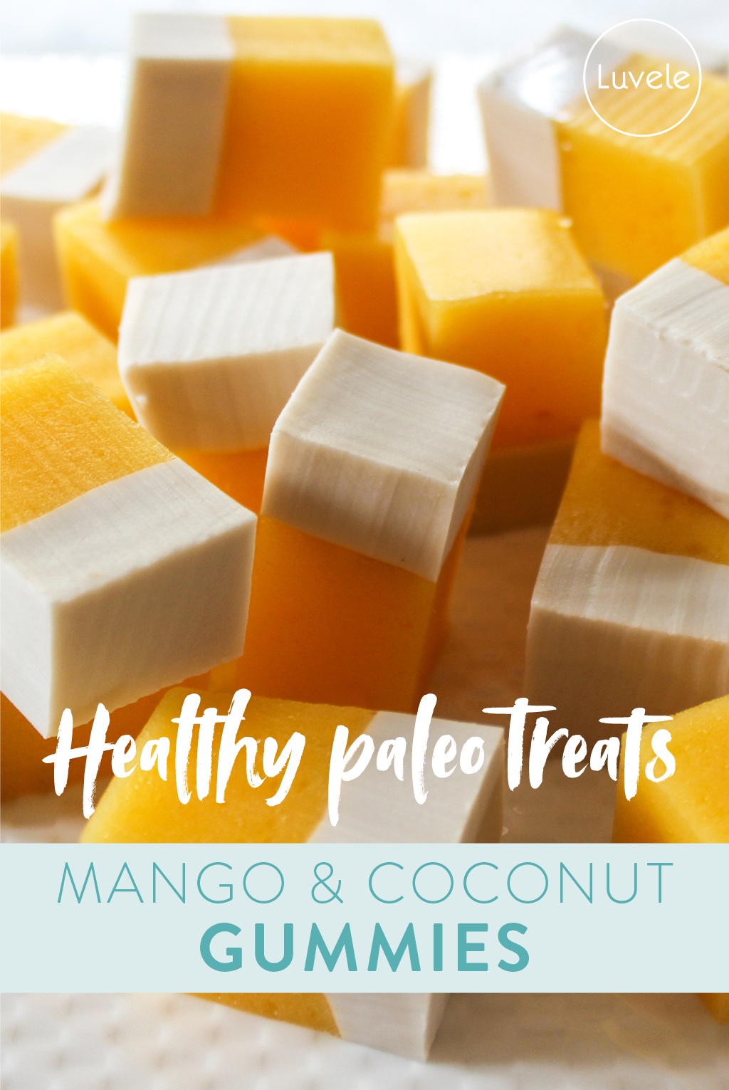 mango and coconut gummies