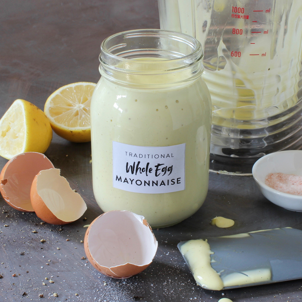 traditional whole egg mayonnaise