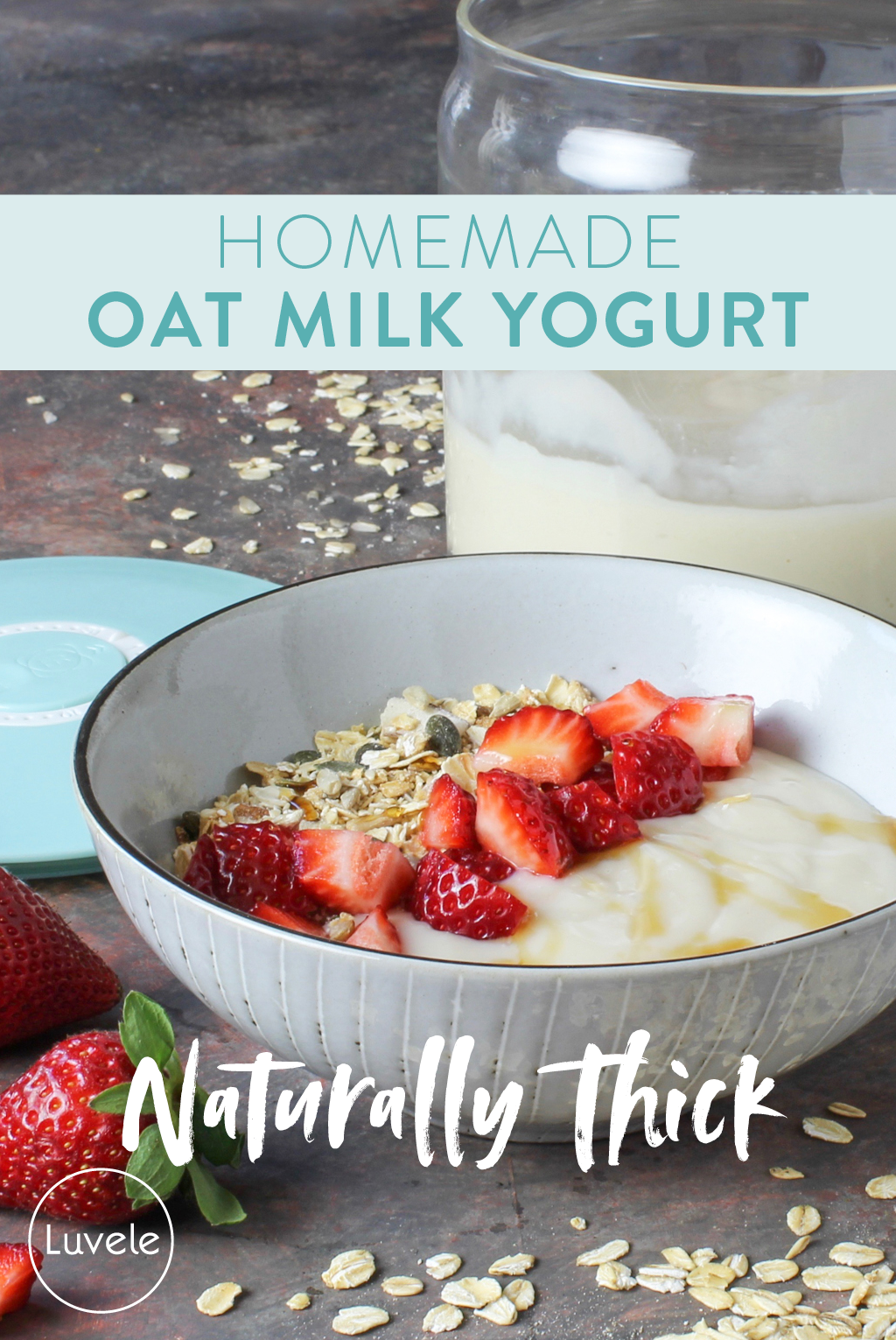 Oat milk yogurt