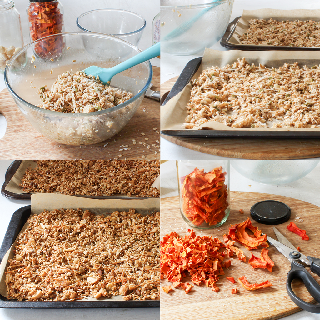 how to make papaya granola