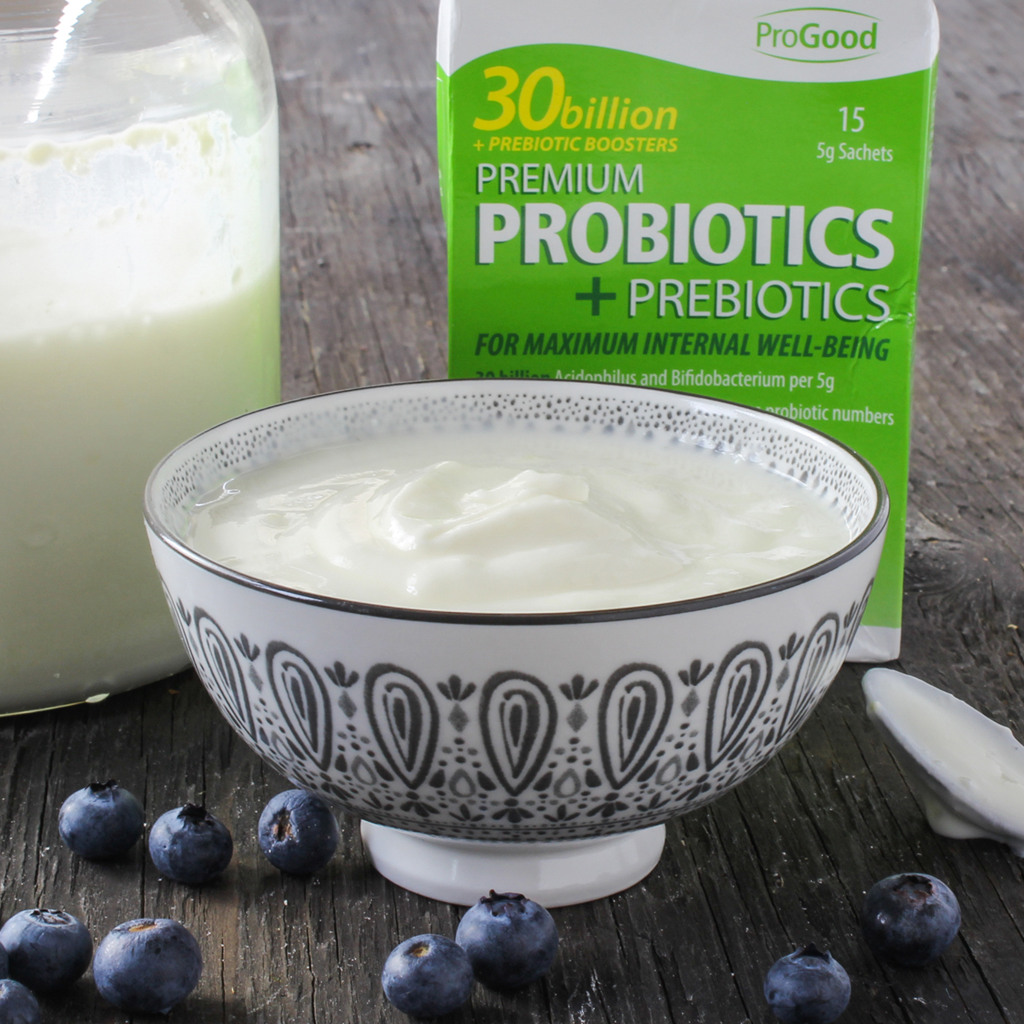ProGood probiotic homemade yogurt