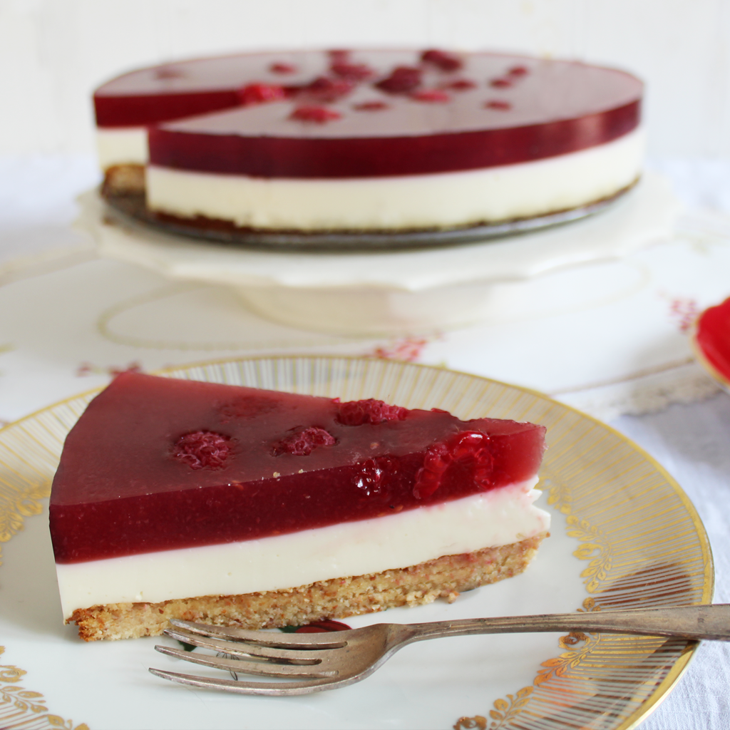 gaps raspberry jelly cheesecake