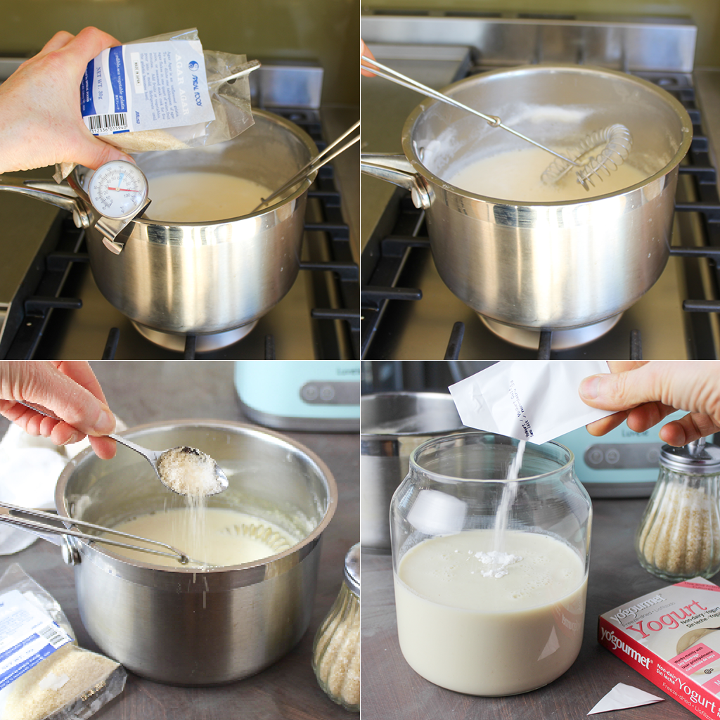 how to make homemade soy milk yogurt