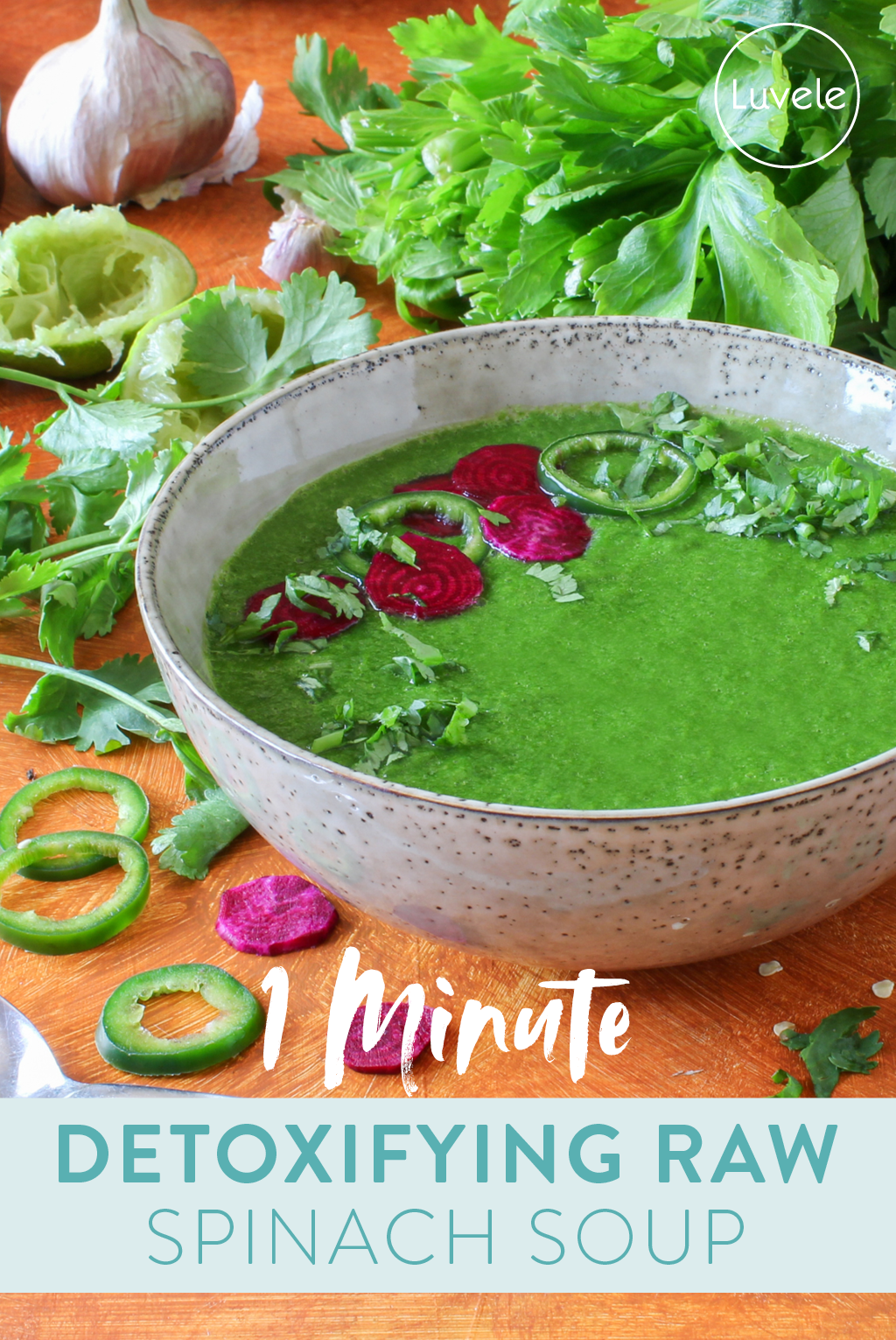 spinach detox soup
