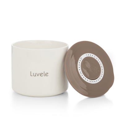 Luvele 4x 400ml ceramic yogurt jars | Compatible with Pure Yogurt Maker LCJ400AUS Yoghurt Makers Luvele AU