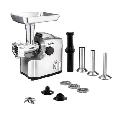 SOLD OUT | Luvele Ultimate Electric Meat Grinder | Sausage Maker | PRE ORDER Now for Late October