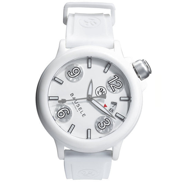 Pilot Automatic  l  All White         (Japan Made)