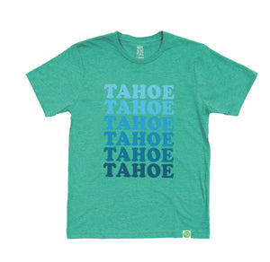 Kid's Tahoe Tahoe Retro Eco Tee in Summer Green