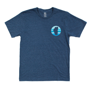 Tahoe Sun Organic T-Shirt in Navy
