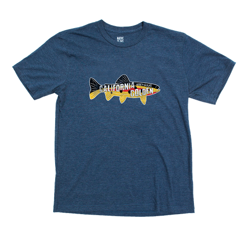 M's California Golden Eco 50/50 Blend T-Shirt