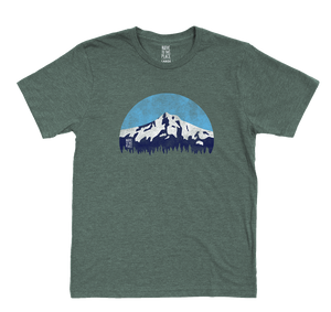 Unisex Mountain Lover Eco 50/50 Blend T-Shirt