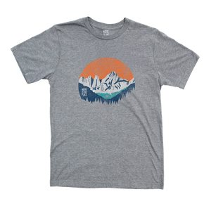 Unisex Mt. Whitney Eco 50/50 Blend T-Shirt